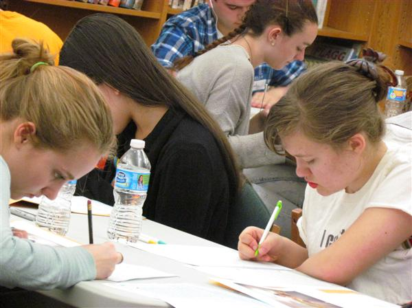 SHHS Hosts Central League Writing Championships