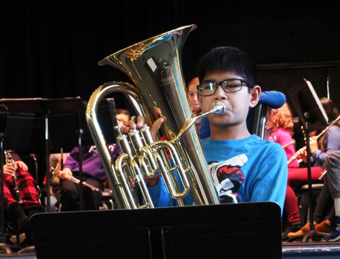 WSSD Beginning Instrumental Music Program