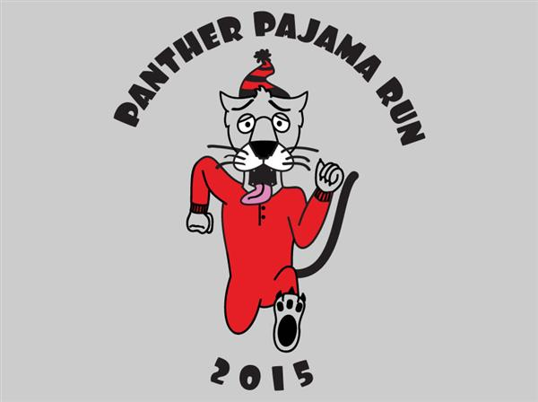 Panther Pajama Run Logo Contest Winner Announced