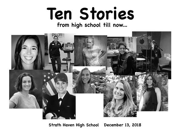 Ten Stories by SHHS Alumni