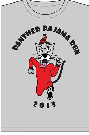 Panther Pajama Run 2015
