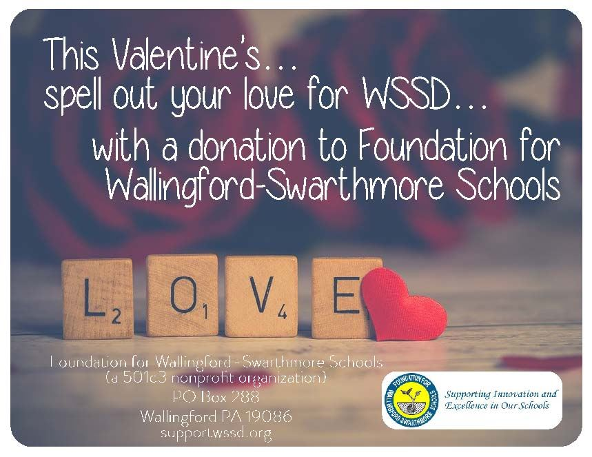 Show Your Love - Foundation for Wallingford-Swarthmore Schools