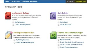 Click on Builder Tools tab to access