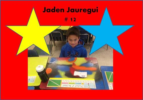 Student of the Week 12