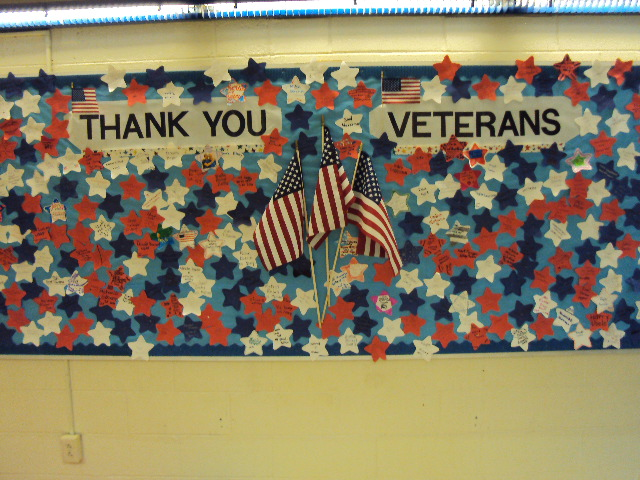 Veterans Honored at SRS!