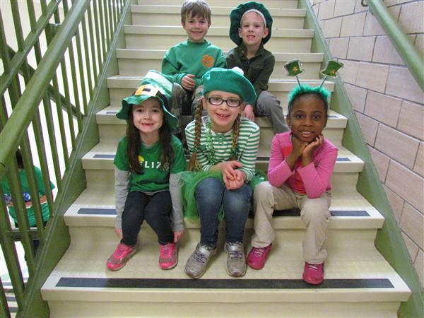 St. Patrick's Day at SRS