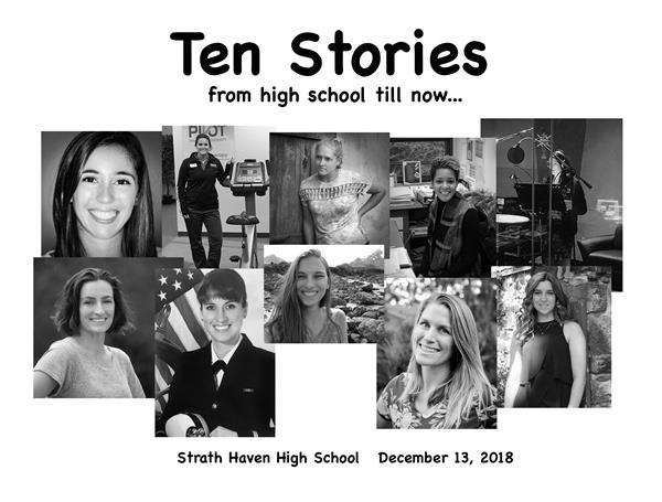 Read about Ten Graduates:From High School till now...