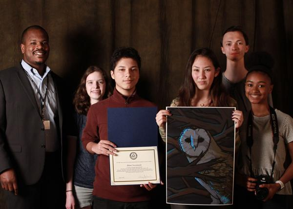 On Sunday, May 5th, works by 21 student artists from SHHS were displayed at the 2019 Congressional Art Competition Show for the 5th District of Pennsylvania.  Click here to view names of Show Winners.