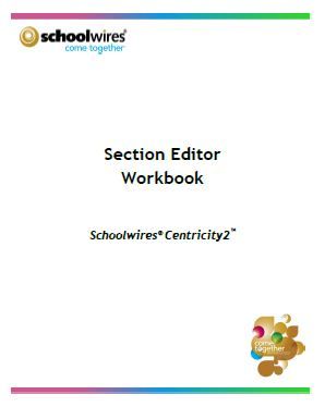 Section Editor Workbook